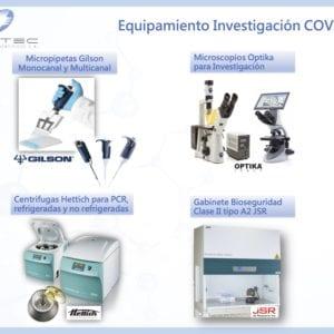Equipamiento para Covid-19