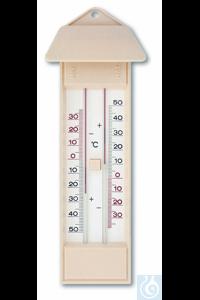 Termometro minimo maximo -35 +50 amarell