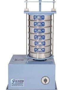 Gilson 8in Sieve Shaker w/ Mechanical Timer (230V / 50Hz)