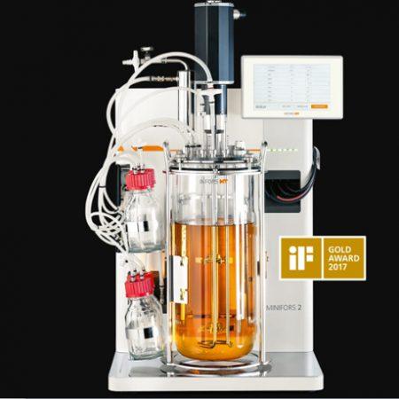 Biorreactor de sobremesa Minifors 2