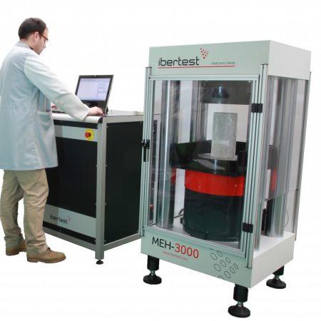 Máquina de ensayo para materiales de alta resistencia a la compresión – Serie MEH