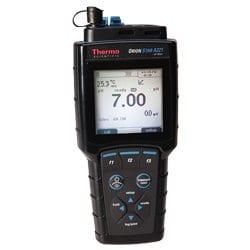 Medidor resistente al agua portátil de pH, mV, ORP y temperatura Orion™ Star A221, medidor portátil de pH/mV/ORP/temperatura
