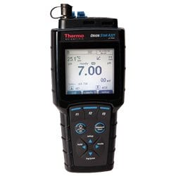 Medidor resistente al agua portátil de pH/mV/ORP/temperatura Orion Star A321