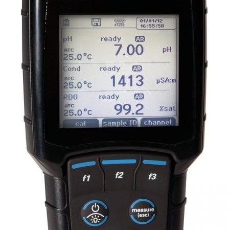 Medidor multiparamétrico de pH/ISE/conductividad/oxígeno disuelto portátil Orion Star A329