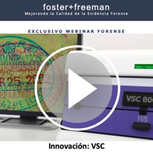 Seminario Web examen de documentos VSC8000 FOSTER+FREEMAN
