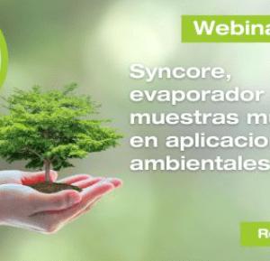 BUCHI y CIENTEC te invitan al Webinar Syncore, evaporador de muestras múltiples en aplicaciones ambientales