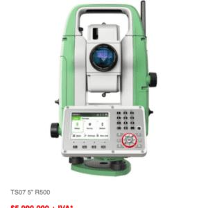 Oportunidad Estación Total TS07 5″ R500
